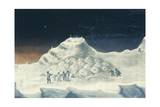 Igloo at North Hendon  Engraving from Narrative of Second Voyage in Search of North-West Passage