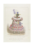 Queen or 'Maam' of the Set-Girls  Plate 1 from 'Sketches of Character '  1838
