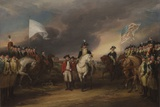 The Surrender of Lord Cornwallis at Yorktown  October 19  1781  1787-C1828