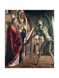 St Wolfgang and the Devil  Life of St Wolfgang  1471-1475