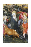Flight into Egypt  Altarpiece from Verdu  1432-34