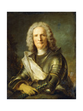 Portrait of a Marechal De France  Probably Chretien-Louis De Montmorency-Luxembourg