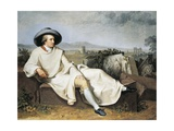 Goethe in Roman Countryside  1786-1787