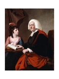 Portrait of the RevThoms Wilson DD and His Adopted Daughter  Miss Catherine Macauley