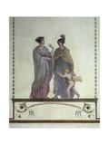 Italy  Venice  Academy of Fine Arts  Royal Palace  Venus and Mars  Pompeian-Style Fresco