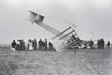 Alcock and Brown's Aircraft Crash-Landed in Derrygimla Bog