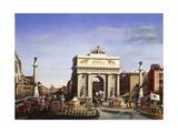 Napoleon Bonaparte's Entrance into Venice  November 29  1807