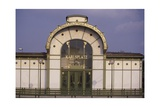 Karlsplatz Underground Station  Designed Between 1894 and 1899