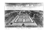 Kings Square in Sohoe  Published by Thomas Glass and Henry Overton I  1720-1730