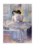Miss Zambelli in Her Dressing Room; Mademoiselle Zambelli Dans Sa Loge  1912