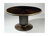 Art Deco-Style Gueridon Table  Ducharne Model  1930