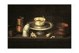 Still Life with Cup of Chocolate or Breakfast with Chocolate  1640