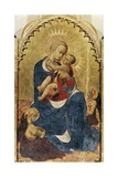 Madonna and Child  Central Panel of Altarpiece of St Dominic of Cortona  Ca 1434