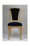 Art Nouveau Style Chair  Part of Living Room Set  Ca 1910