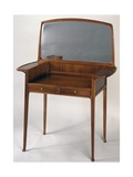Art Nouveau Style Dressing Table with Mirror and Two Drawers  1910