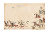 Under Cloud and Howling Wolf Fight with Gen Sully in 1868