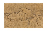 Vincent's House at Arles  from a Letter to His Brother Theo  Executed in Arles  1888