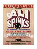 Poster Advertising the Rematch Between Muhammad Ali and Leon Spinks in New Orleans
