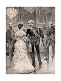 The King of Prussia at a Court Ball in 1862
