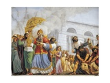 Italy  Florence  Palazzo Pitti  David Accompanies Transportation of Ark of Covenant  1816