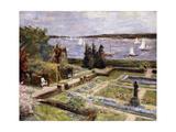 Garden of the Arnhold Family by the Wansee River; Wannseegarten Der Familie Arnhold  1911