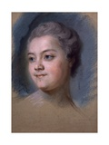 Portrait of Mademoiselle De Chastagner De Lagrange