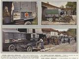 Voiture Ambulance Americaine  Un Camion Sanitaire Americain  Poste Central Americain