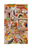 Akbar's Household Rejoicing at the Birth of His Second Son