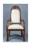 Art Nouveau Style Armchair Created for Universal Exhibition of 1900  Part of Dining Room Set