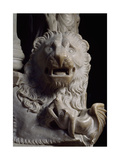 Lion Figure  Detail of Tomb of Catherine of Austria  1323 Ca