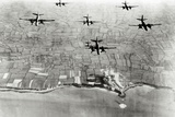 Six US A-20 Bombers Have Bombed German Positions at the Pointe Du Hoc Coastal Battery