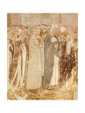 Departure from Rome  Detail from Stories of St Ursula