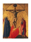 The Crucifixion  Panel from the Altarpiece of the Church of the Carmine in Pisa  1426