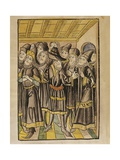 The Moldavian Delegation  from the 'Chronicle of the Council of Constance'  Published 1483