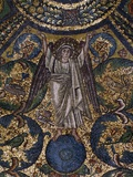 Angel Figure and Nature Motifs