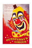 "Programme for ""Octopussy's Circus""  from the film 'Octopussy'  1983"