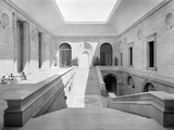 The Staircase Court at the Viceroy's House  from 'Edwin Lutyens: Country Houses'