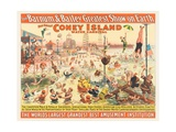 The Barnum and Bailey Greatest Show on Earth - the Great Coney Island Water Carnival  C1898