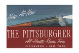 The Pittsburgher'  Advertisement for the Pennsylvania Railroad Company  C1948