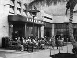 Nunnally''S Restaurant  One of Lincoln Road''s Early Sidewalk Cafes  Miami  1936