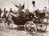 Wendell Willkie at a Frontier Celebration at Ceyenne During the Presidential Campaign  1940