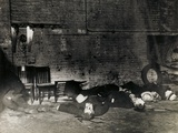 The Aftermath of the St Valentine's Day Massacre  Chicago  14th February 1929