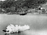 Two of Twelve US A-20 Havoc Bombers on a Mission Against Kokas  Papua  Indonesia  July 1943