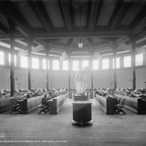 Reading Room in Library  University of Michigan  Ann Arbor  Michigan  C1901
