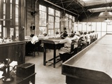 Radium Girls Work in a Factory of the United States Radium Corporation C1922