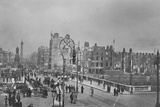 O'Connell Street and Bridge Following the Easter Rising  Dublin  Ireland  1916