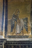 Mosaic Depicting Archangel Gabriel  Half Dome of Apse of Hagia Sophia  Historic Areas of Istanbul