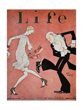 Dancing the Charleston During the 'Roaring Twenties'  Cover of Life Magazine  18th February  1928