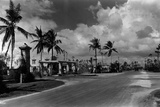 Looking North on Granada Boulevard at the Intersection with Alhambra Circle  October 4Th  1926