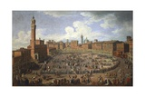 Il Palio Di Siena Run in Honor of Francis I and Maria Theresa of Austria on April 3Rd